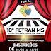 TRÊS LAGOAS| 10º FETRAN MS está com as inscrições abertas