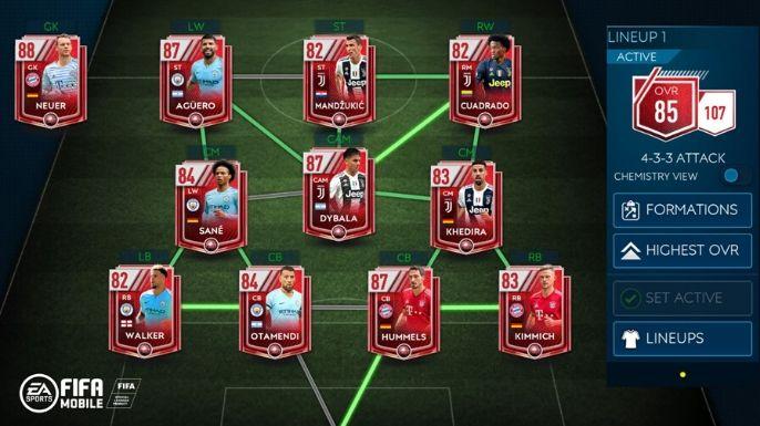 FIFA Mobile (mobile)