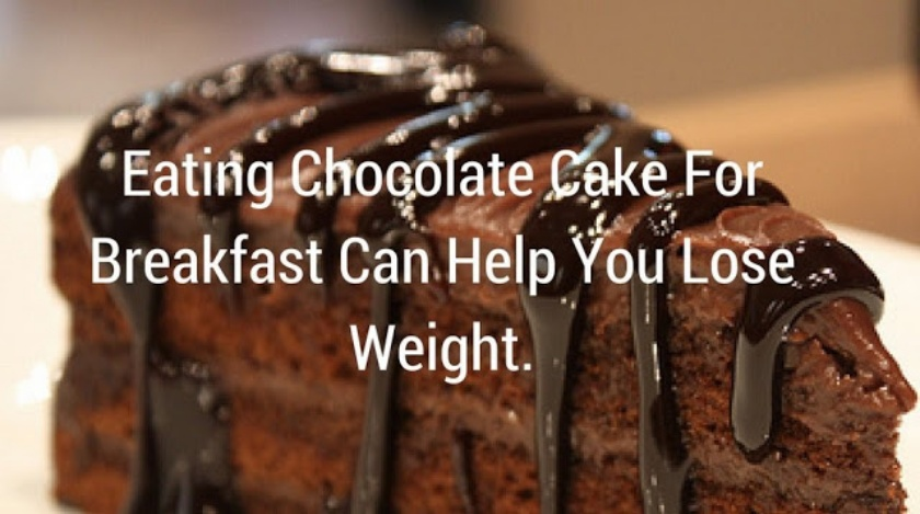 Chocolate Cake, Weight, Lose Weight