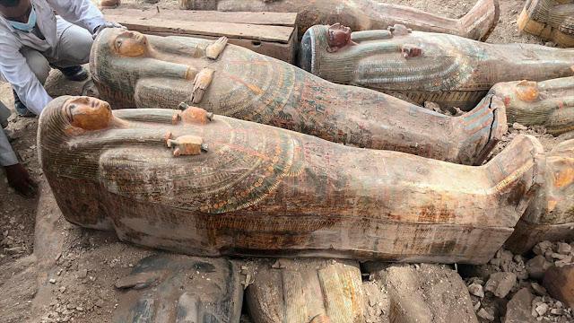 Encontraron 20 tumbas en Egipto-PuroIngenio