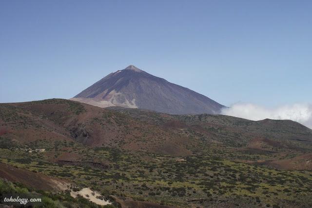 Северный склон Тейде на о. Тенерифе