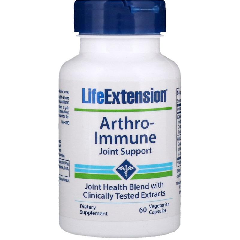 Life Extension, Аутоиммунная поддержка суставав, 60 вегетарианских капсул