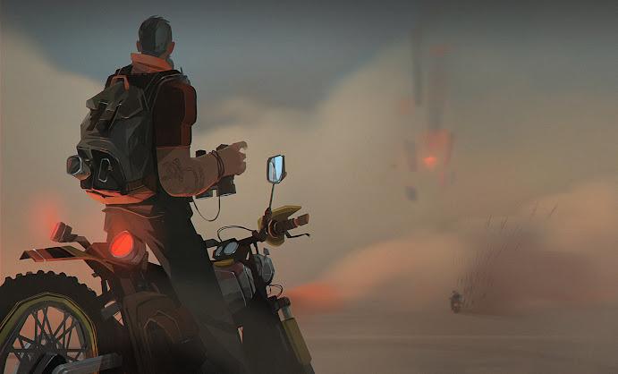 Wasteland Wanderer - Illustration Ivan Pozdnyakov