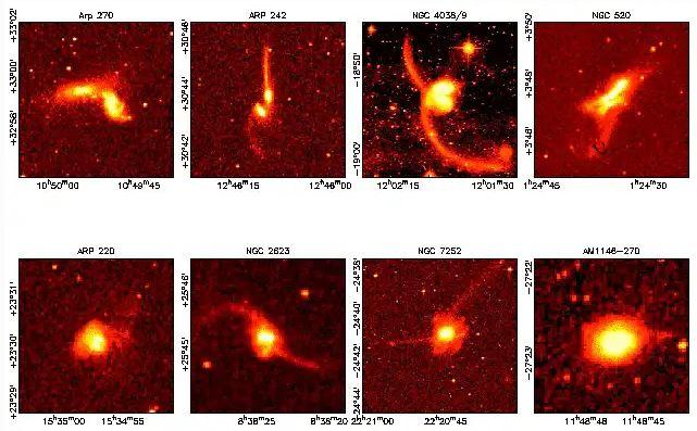 مجرات,تصادم المجرات,النجوم,الفضاء,الغاز,مجرة بيضاوية,مجرة حلزونية
