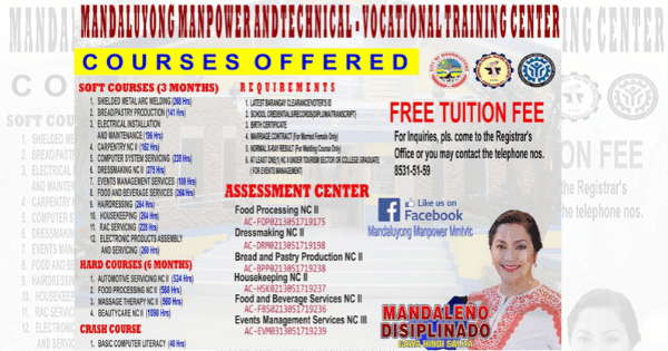 15+ TESDA Training Courses | Free Tuition Fee 2020