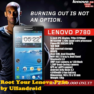 Cara Mudah Root Lenovo P780 Kitkat S221 & S228
