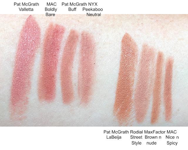 Pat McGrath LuxeTrance Valletta LaBeija Lipstick Dupe Lip Liner