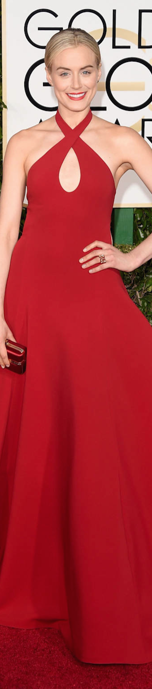 Taylor Schilling 2015 Golden Globes