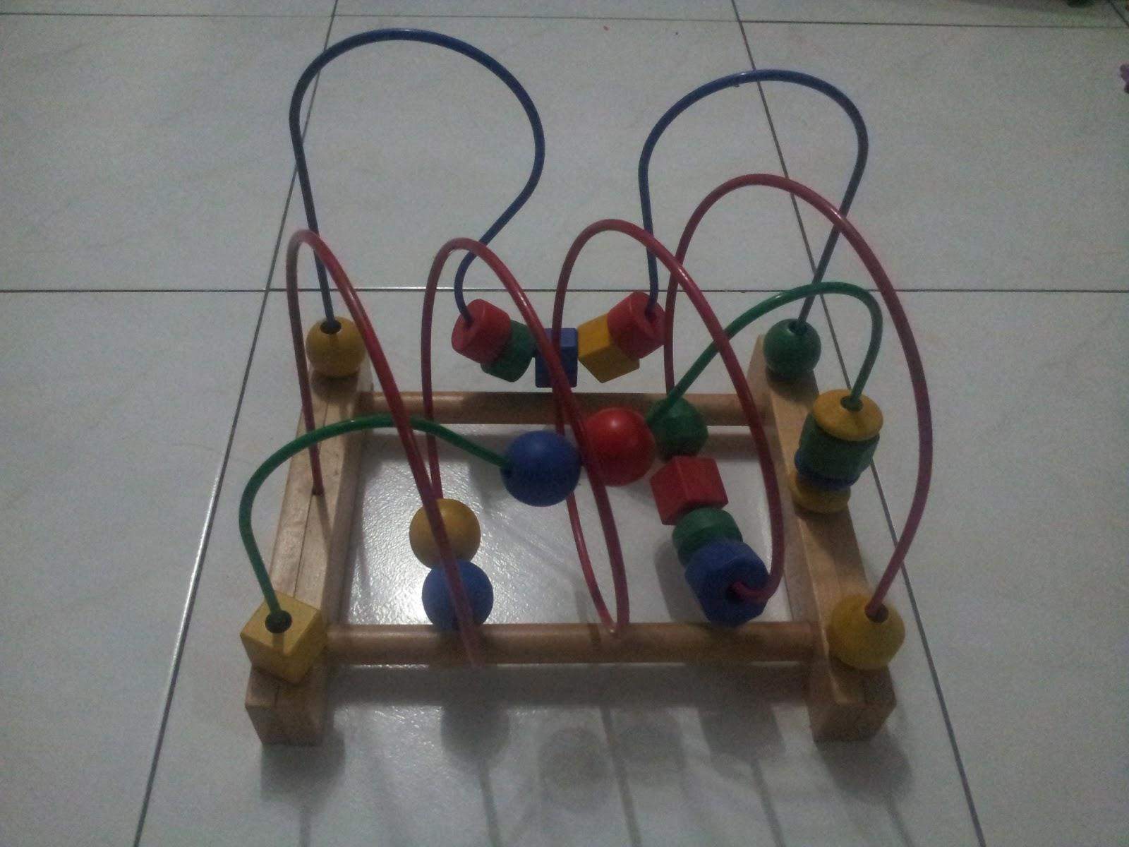 Mayeesa S Preloved Ikea Bead Toy