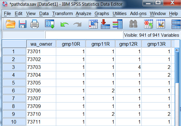 Technologies in Ratology: Importing multiple Excel columns
