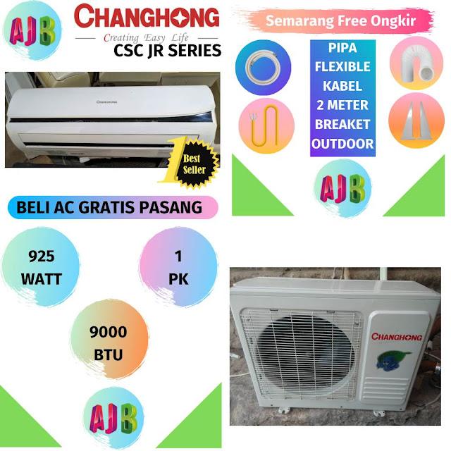 Jual AC Changhong 1 PK R410A Gratis Pemasangan
