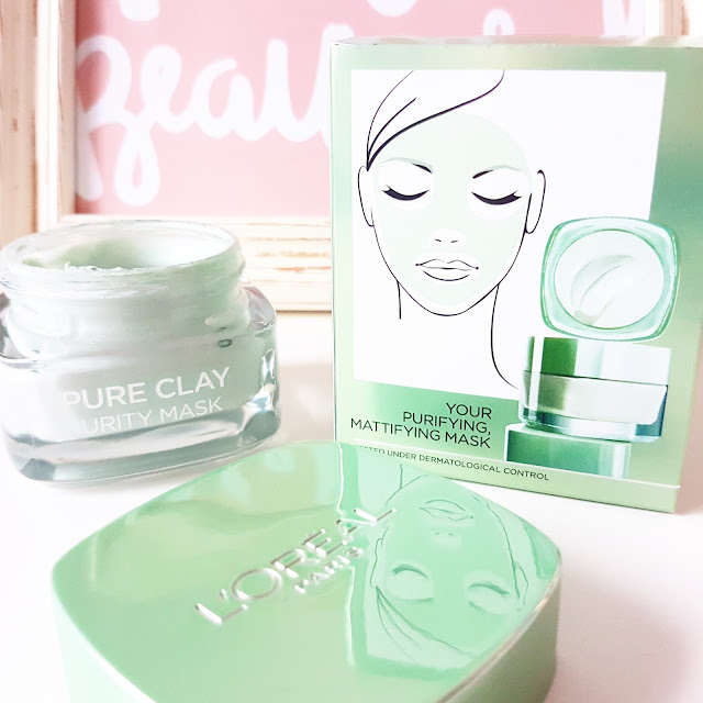 A Mattifying Face Mask? | L'oreal Paris Pure Clay Purity Mask