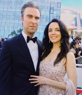 Derek Tisdelle with his wife Michelle Morgan