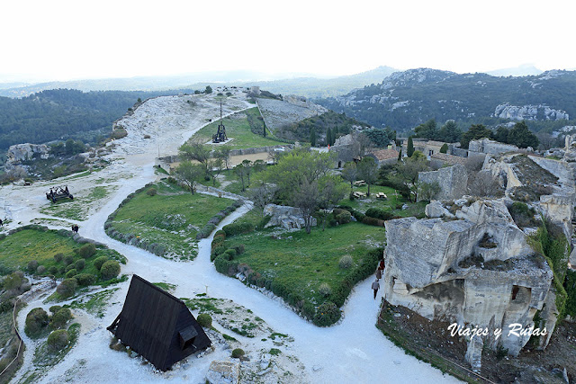 Castillo de Les Baux de Provence