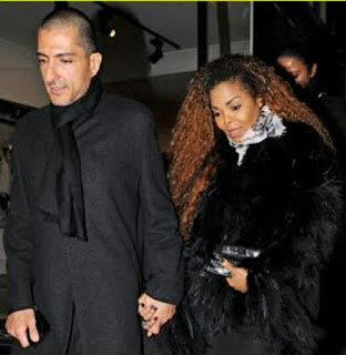 Janet Jackson and husband, wiassam Al mana