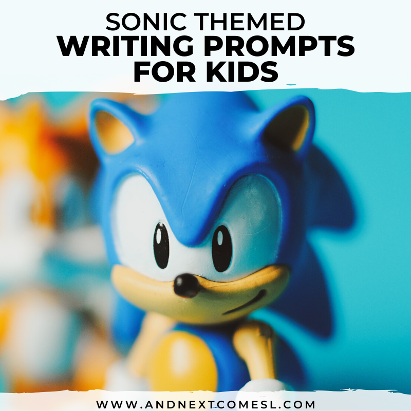 Sonic Themed Writing Prompts For Kids Free Printable And Next Comes L Hyperlexia Resources