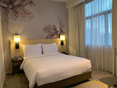 Queen Deluxe Bedroom, Hilton Garden Inn Kuala Lumpur North