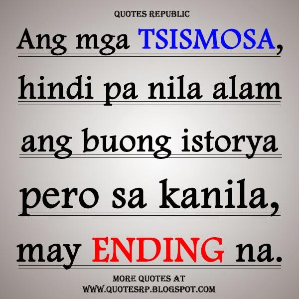Tsismosa Quotes Patama