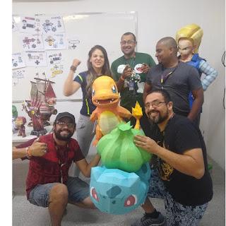 pokemon, papercraft, rondipaper, lowpoly