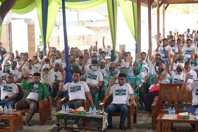 Dengan Mengikuti Protokol Kesehatan, Fadhil- Bakhtiar Lantik Tim Pemenangan