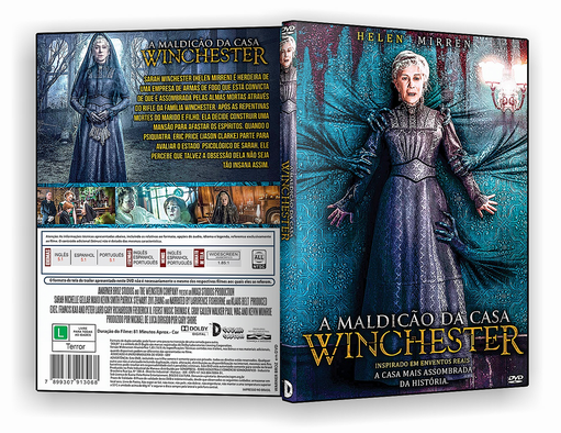 DVD – A Maldição da Casa Winchester – ISO- CINEMA
