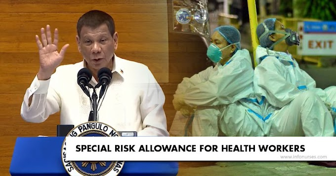 Duterte orders Duque, DBM to pay nurses, other health workers' benefits in 10 days