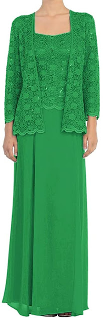 Cheap Green Mother of The Bride Dresses