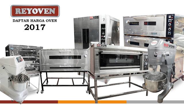 Daftar Harga Oven Gas untuk Kue dan Roti 2017