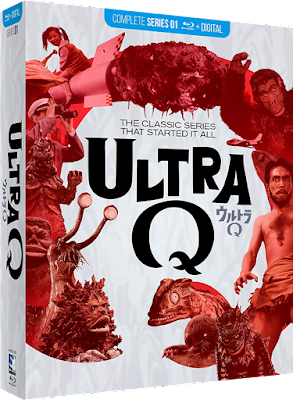 Cover art for the standard release of Mill Creek's Complete ULTRA Q set!
