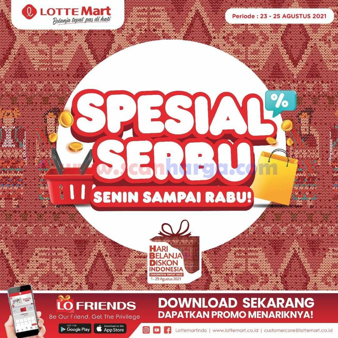 Promo Lottemart Weekday - Katalog Belanja Spesial SERBU (Senin - Rabu)