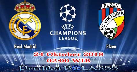 Prediksi Bola855 Real Madrid vs Plzen 24 Oktober 2018