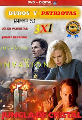 Duros Y Patriotas 3X1 DVD HD LATINO 5.1