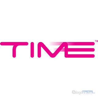 TIME dotCom Logo vector (.cdr)