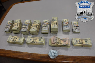approximately $100,000 in cash, and other items were seized