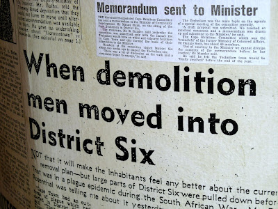 Cape Town, District Six Museum, District Six