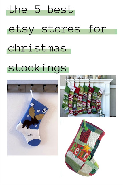 The Best Etsy Stores for Christmas Stockings