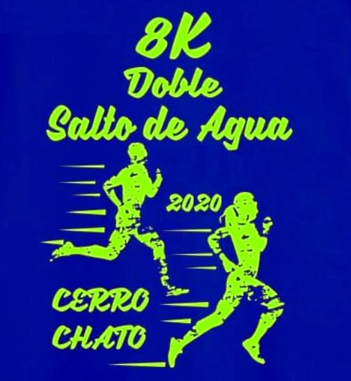 8k Doble Salto de agua en Cerro Chato (Treinta y tres, 21/mar/2020)