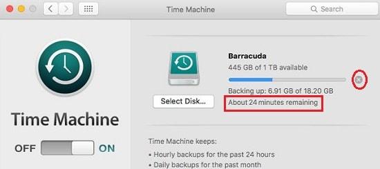 mac time machine backup slow