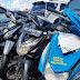 Lima Motor Tanpa Dokumen Diamankan Selama Patroli Ramadhan di Timika
