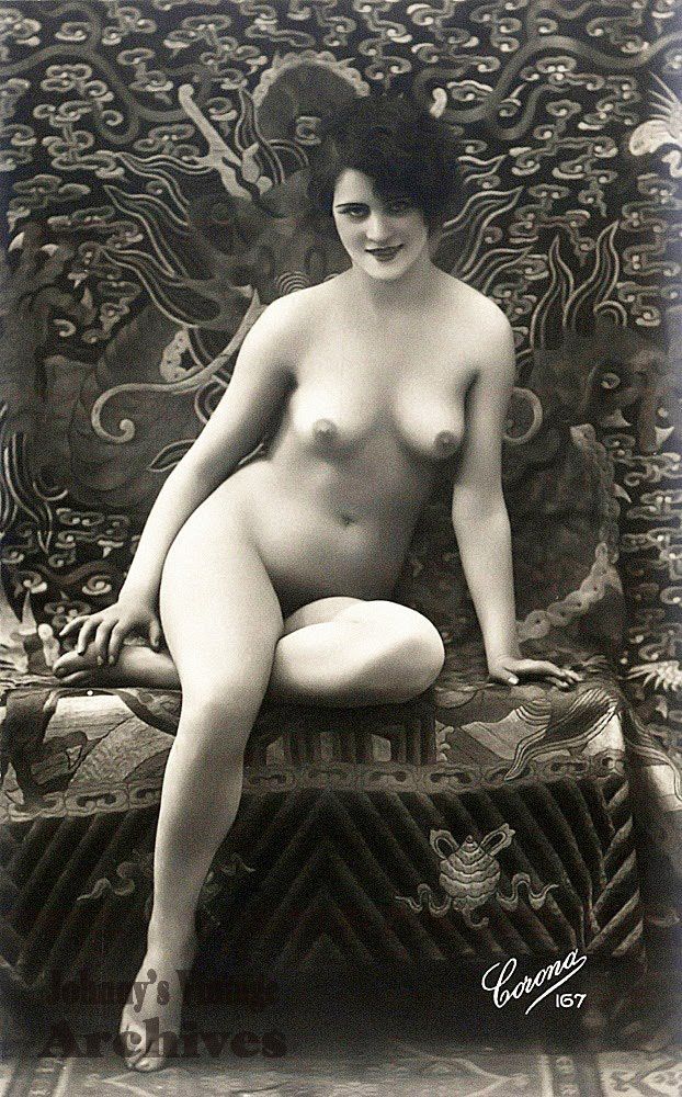 french vintage nude pinups