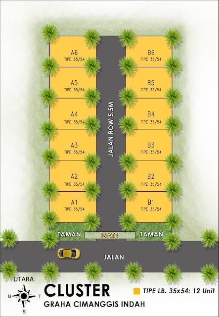 Graha Cimanggis Indah, Perumahan syariah Bojong Gede Bogor