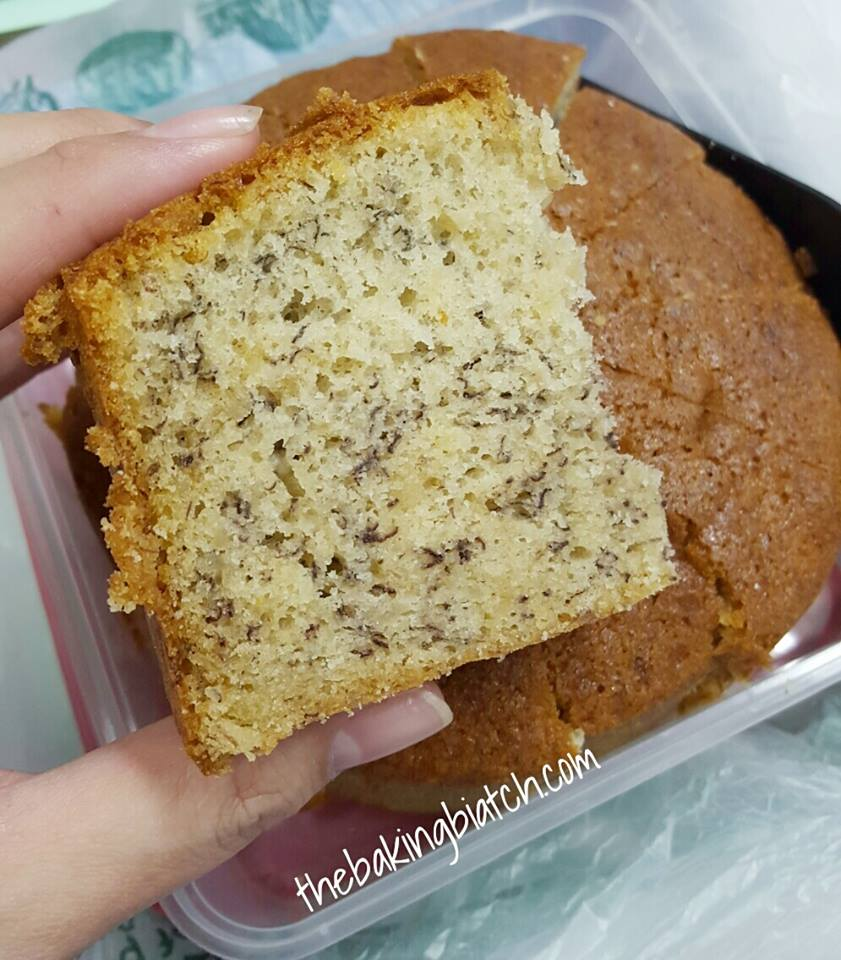 The Baking Biatch By Cynthia Lim Banana Sponge Cake