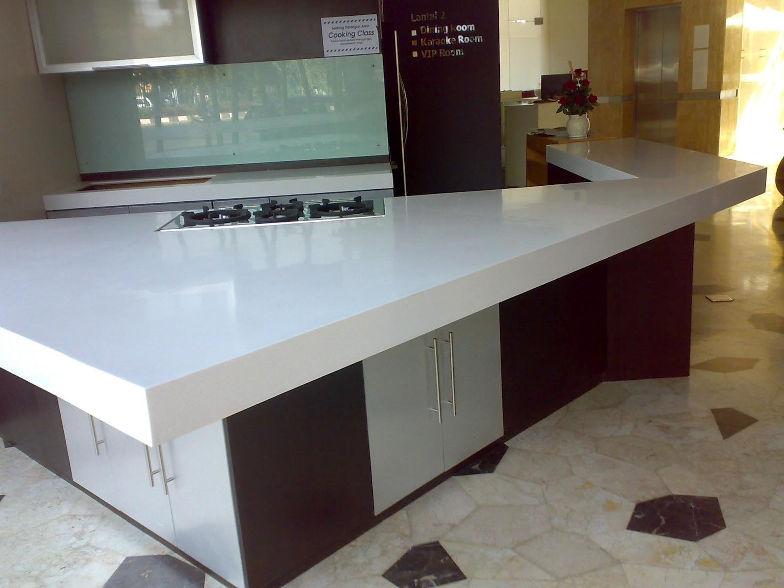 Batu Granit Sintetis Untuk Top Table Kitchen Set   BATU ...