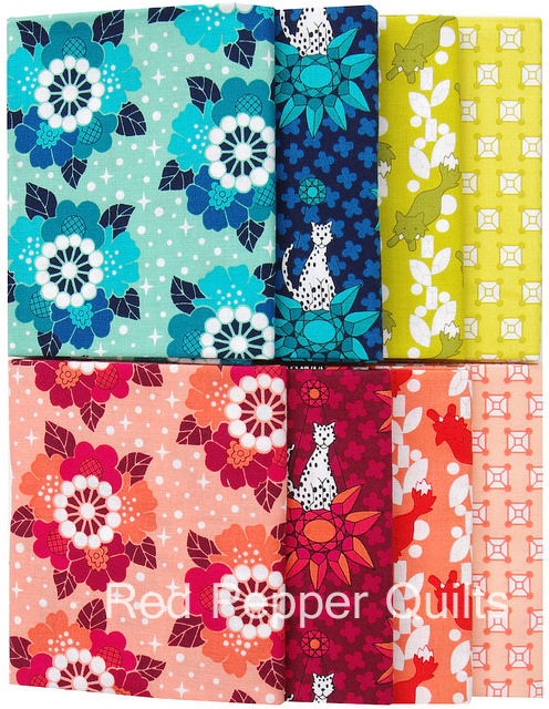 Rhoda Ruth by Elizabeth Hartman for Robert Kaufman Fabrics | Red Pepper Quilts 2015