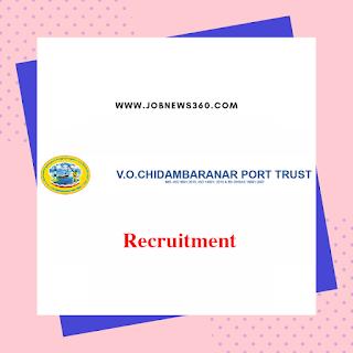 VOC Port Trust Tuticorin Recruitment 2019 for Personal Assistant