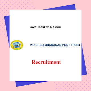 VOC Port Trust Tuticorin Recruitment 2020 for Deputy Chief Engineer (Civil)