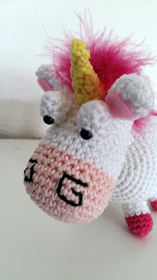 tuto crochet amigurumi licorne