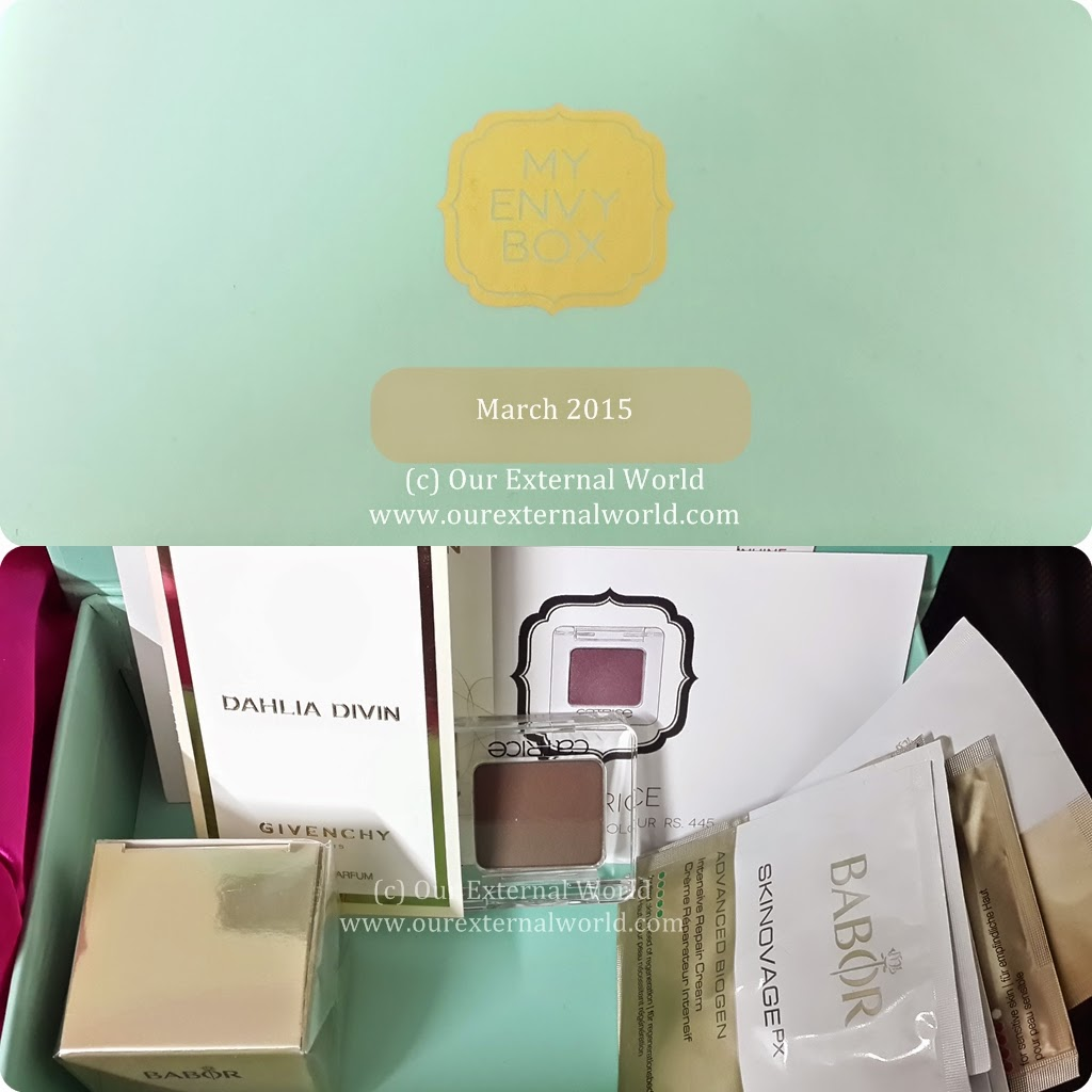 Unboxing: My Envy Box March 2015 Review, discount code