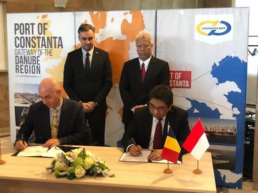 Perkuat Konektivitas Global, IPC Jalin Kemitraan Sister Port dengan Rumania