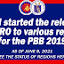 DBM started the release of SARO to DepEd Regions, as of June 9, 2021